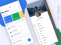 Modernize Google Drive UI