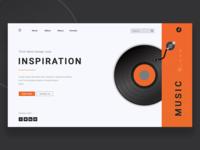 Music Info Landing Page