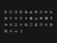 Icon set web