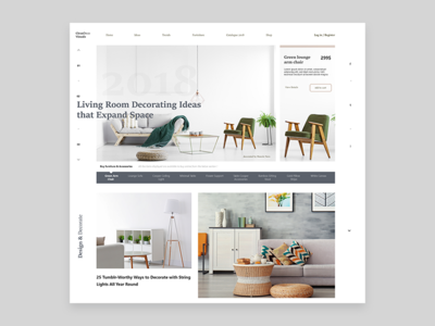 Concept Layout Ui Design - Home Deco