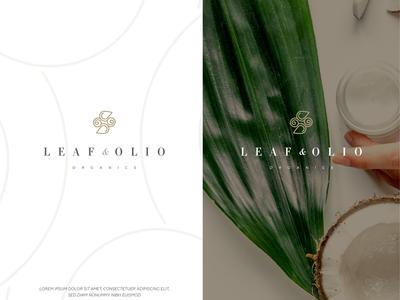 Leaf & Olio Organics Logo Concept