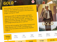 Gold - Booking Film Concept