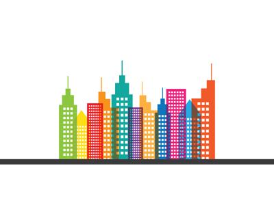 Colorful buildings copy