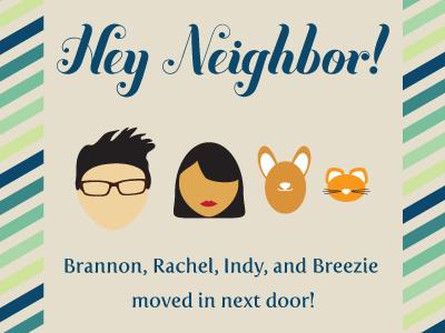 Hey Neighbor Card