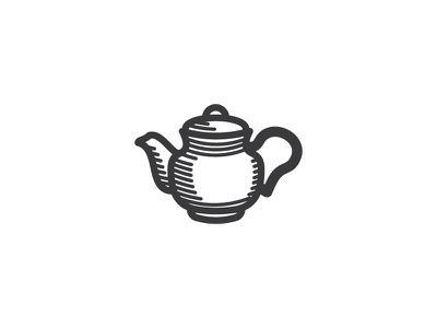 Tea Pot 3 logo vector icon tea pot pot tea
