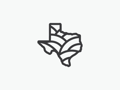 Texas Wine Country! texas vector one color mark logo hills wine