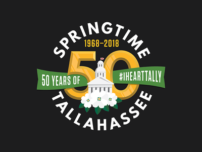 Springtime Tallahassee league spartan 50 flower dogwood capitol springtime logo tallahassee