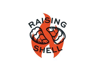 Raising Shell raising fire sea ocean gulf shell asset vector oysters oyster