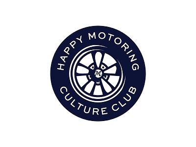 Happy Motoring cragar wheel club culture motoring happy tire badge
