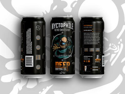 Beer Can  #3 illustration vector octopus porthole diver can design can beer branding beer can beer