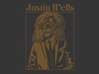 Justin Wells lion man Shirt