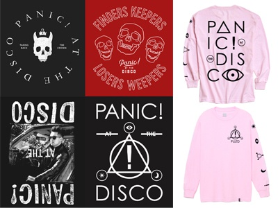 P!ATD new merch by katie campbell - Dribbble