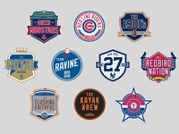 MLB (fan) club team logos