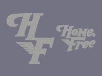 Home Free Lettering