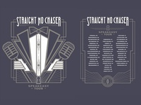 SNC Speakeasy Tour Tee