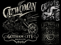 Gotham City Garage Catwoman