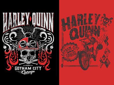 Gotham City Garage Harley Quinn comics consumer products moto biker apparel