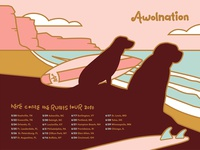 AWOLNATION Tour Poster