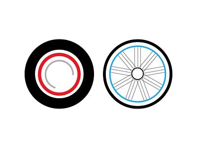 Illustrated Buddy Tattoos wheels illustration minimal