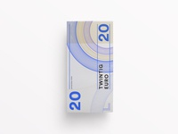 Banknote banknote bill euro money