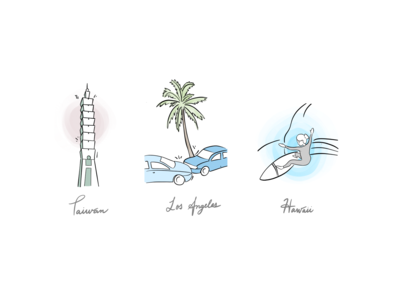 Illustrations - places