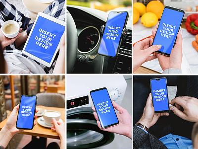 StartMockups.com Bundle - Get up to 157 PSD Mockups photoshop mockup psd mockups freebie android iphone mockup free template webdesign