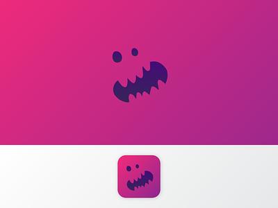 Daily UI #005 — App Icon rawr monster purple dailyui 005 icon app icon logo