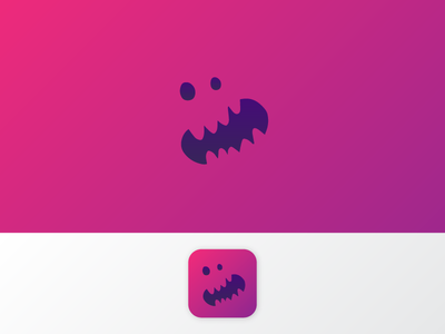 Daily UI #005 — App Icon rawr monster purple dailyui 005 icon app icon logo