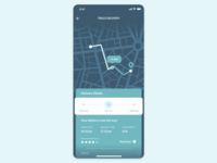 Daily UI #020 — Location Tracker