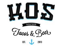 KOS Seafood Logo