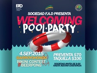 flyer / pool party