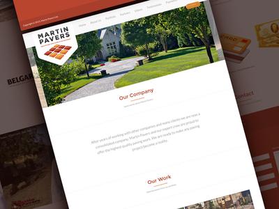 Martin Pavers : Website responsive web website