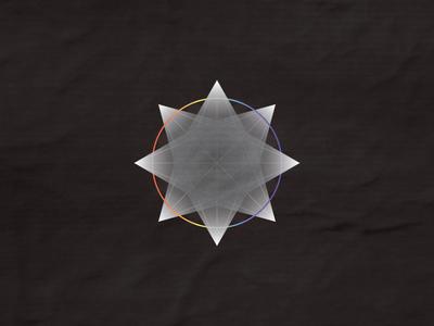 Prysm prism prismatic octagonal triangular geometric symmetry triangles moon side dark