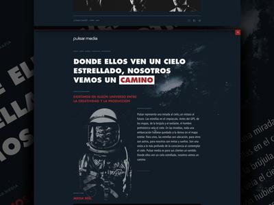 pulsar.media media house studio agency website