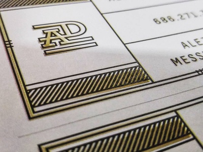 Business Cards gold print cards card business