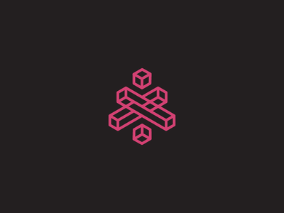 Isodeath mark symmetric symmetry logo isometric