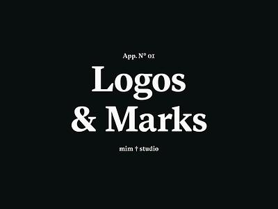 Logos & Marks 2015 — 2018 mark branding logo