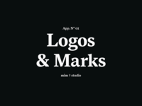 Logos & Marks 2015 — 2018