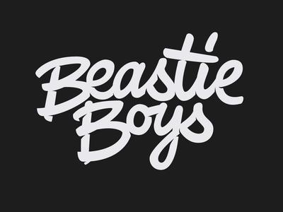 BeastieBoys music beastie boys logo hand lettering lettering