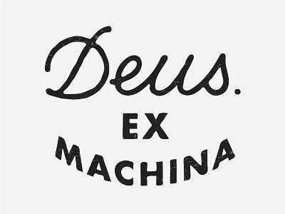 Deus ex machina print print lettering art motorbike moto deus ex machina