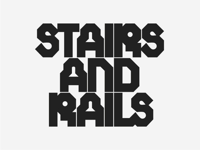 Stairs n Rails logo logodesign snowboarding snowboard