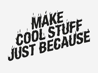 Cool Stuff logo handlettering lettering letter