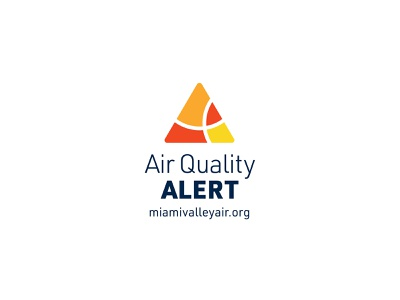Air Quality Alert - Miami Valley public service enviroment public health dayton ohio warning alert logo alert air quality