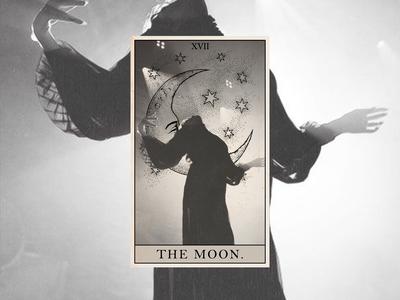 Flo Tarot -- The Moon