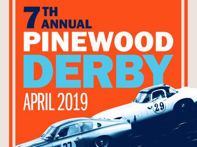 Pinewood Derby Ad