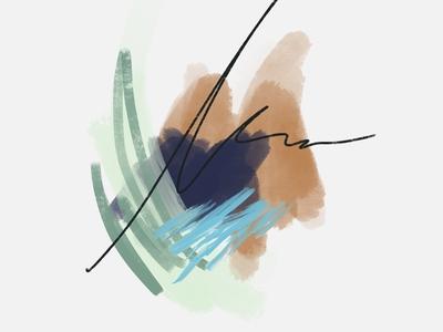momentarily   color study No. 01