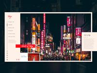 Visit Tokyo - Concept Page