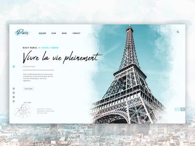 Visit Paris - Concept Page