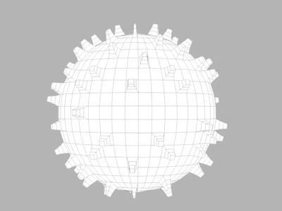3D cell model