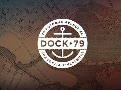 Dock79 Concept #3 icon campaign web logo design branding